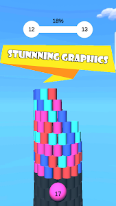 screenshot of Color Tower Breaker : Color Tower Stack version 0.3