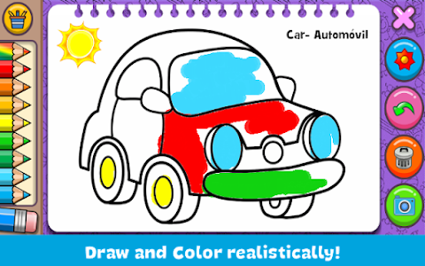 screenshot of Coloring & Learn version 1.108