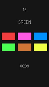 screenshot of Colors Tap version 1.4.1