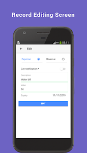 screenshot of Free App - Personal Money Manager version 0.0.87