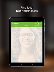 screenshot of Convo - VRS app by signers version 2.9.8-1531