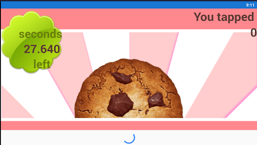 screenshot of Cookie Tapper 2019 version 1.0