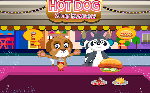 screenshot of Cooking hot dog for sausage party version 1.1