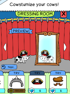 screenshot of Cow Evolution - Crazy Cow Making Clicker Game version 1.11