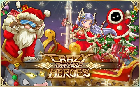 screenshot of Crazy Defense Heroes: Tower Defense Strategy TD version 1.9.2