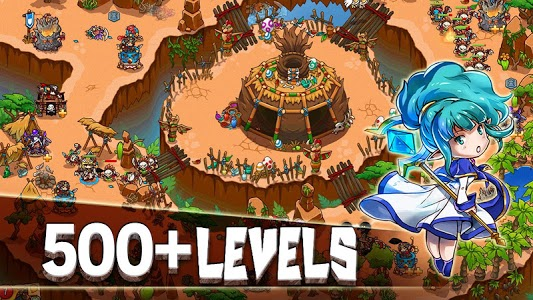 screenshot of Crazy Defense Heroes: Tower Defense Strategy TD version 1.9.3