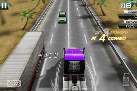 screenshot of Mini Crazy Traffic Highway Race version 1.2.16