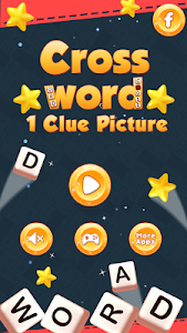 screenshot of Cross Word Puzzle - 1 Clue Picture version 1.0.4