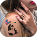 Download Cute Tattoos on My Photo for Girls 1.3 APK