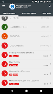 screenshot of Storage Analyzer & Disk Usage version 4.1.0.9
