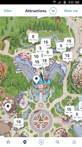 screenshot of Disneyland\u00ae version 5.3