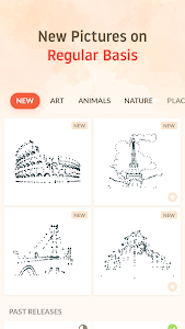 screenshot of Dot to Dot : Connect the Dots version 1.6.9
