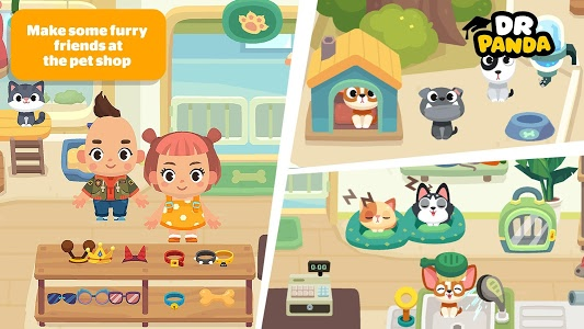 screenshot of Dr. Panda Town: Mall version Varies with device