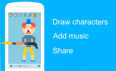 screenshot of Draw Cartoons version 1.9.67