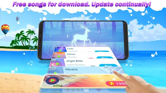 screenshot of Dream Piano - Music Game version 1.40.0