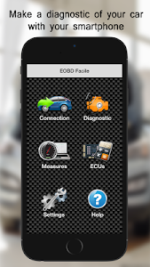 screenshot of E OBD2 Facile -Car Diagnostics version 2.42.0435