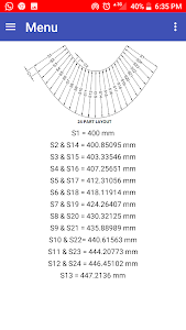 screenshot of Eccentric Cone Layout version Let'sFab