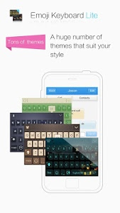 screenshot of 2018Emoji Keyboard ? Emoticons Lite -sticker&gif version 7.0.1.281