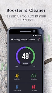 screenshot of Energy Booster and Cleaner version 2.9.8