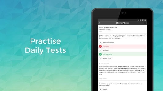 screenshot of #1 Exam Prep App: Quiz & Notes version 3.24