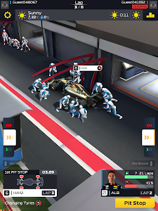 screenshot of F1 Manager version 0.22.10305