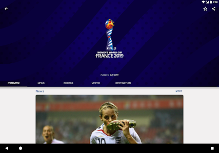 screenshot of FIFA - Tournaments, Soccer News & Live Scores version 4.3.203