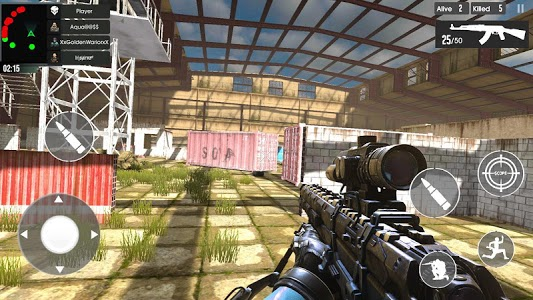 screenshot of FPS Commando 2019 version 0.4