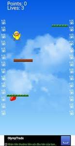 screenshot of Fall Down version 1.0