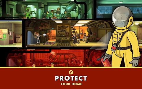 screenshot of Fallout Shelter version 1.5