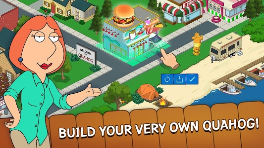 screenshot of Family Guy The Quest for Stuff version 1.91.0