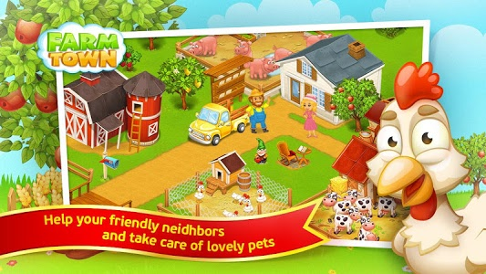 screenshot of Farm Town 2™: Hay New Farm Day version 2.07