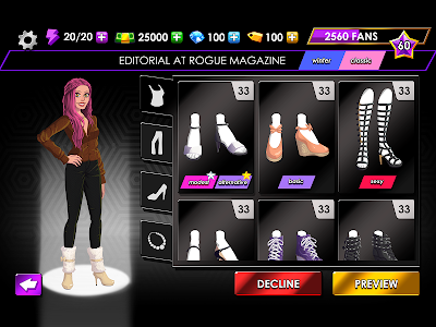 screenshot of Fashion Fever - Dress Up, Styling and Supermodels version 1.2.1