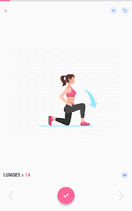 screenshot of Women Workout at Home - Female Fitness version 1.1.8