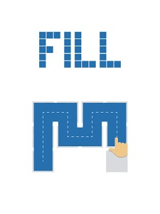screenshot of Fill - one-line puzzle game version 4.8.0