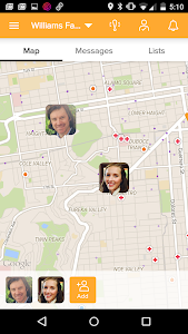 screenshot of Find My Friends version 12.0.0