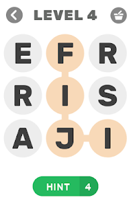 screenshot of Find Words version 1.2.9z