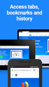 screenshot of Firefox Browser fast & private version 65.0.1