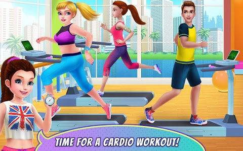 screenshot of Fitness Girl - Dance & Play version 1.0.8