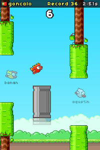 screenshot of Flapping Online version 4.3.0