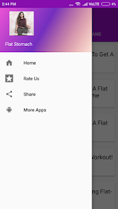 screenshot of Flat Stomach Exercises version 1.2