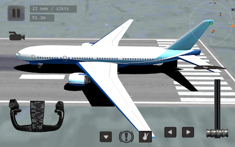 screenshot of Flight Simulator : Plane Pilot version 2.5.1