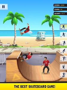 screenshot of Flip Skater version 1.78