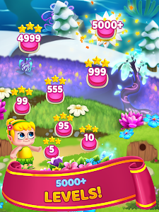 screenshot of Flower Games - Bubble Shooter version 2.8