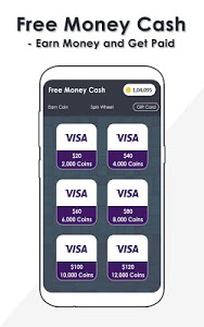 screenshot of Free Money Cash - Earn Money and Get Paid version 1.0