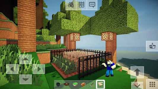 screenshot of FreeCraft Pocket Edition version 4.1
