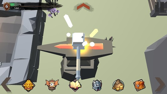 screenshot of From Today Blacksmith FREE version 1.2.1