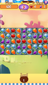 screenshot of Fruity Match Blast version 1.0