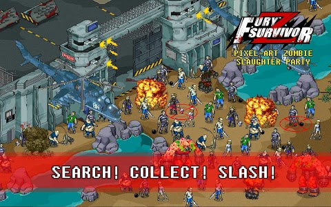 screenshot of Fury Survivor: Pixel Z version 1.061