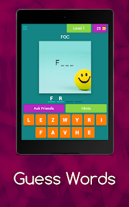 screenshot of GAME : Guess The Word version 3.1.8z