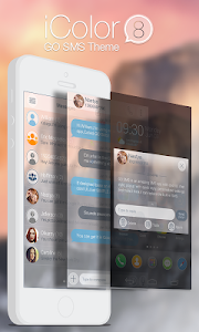 screenshot of GO SMS PRO ICOLOR8 THEME version 1.0